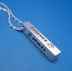 The Marauders A Hand Stamped Aluminum Bar by chasingatstarlight