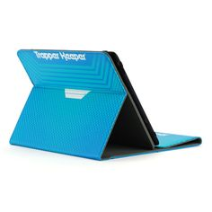 """Kensington Trapper Keeper K97326WW Carrying Case (Folio) for 10"""" Tablet - Blue - Scratch Resistant Interior, Damage Resistant Interior - 10.5"""" Height x 8"""" Width x 1"""" Depth Color: Blue."""