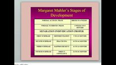 margaret mahler theory -  Consolidation and Object Constancy - 24 to 36 Months At some point around the second birthday, children begin to be more comfortable separating from their mothers, knowing that they will return (object constancy). This ability makes it possible for two year olds to accept that they are unique from their mothers without anxiety, allowing the child to engage substitutes for the mother when she is absent. Google Search