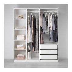 "PAX Wardrobe - 68 7/8x22 7/8x79 1/4 "" - IKEA Laundry room perfection! $420"