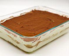 Tiramisu selber machen und in den Kühlschrank stellen