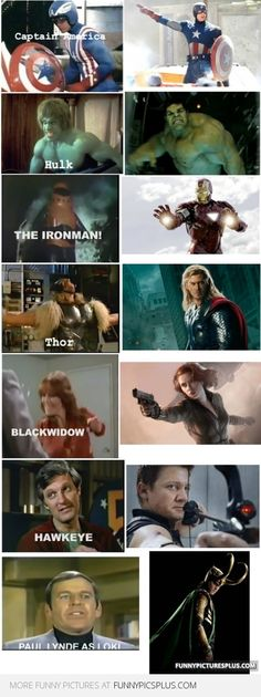 Avengers: Before and now, much better, except Hawkeye is a tie for me.