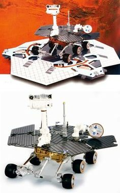 spirit rover model - photo #38