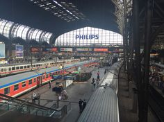 Hamburg hauptbahnhof. One of the largest central stations in Europe - by Travellenineurope.com