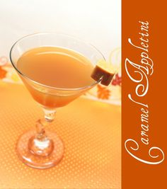 Belle the Magazine . Caramel Appletini  1 oz Vodka  1 oz Sour Apple Pucker  1/2 oz ButterShots  3 oz Apple Cider  Shake up incredients with ice and strain into a chilled martini glass. Garnish with slice of green apple or caramel candy piece.