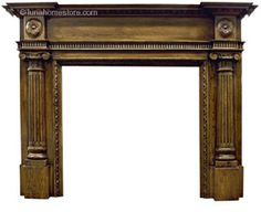 Ashliegh Fireplace Surround Solid Oak      Solid Oak     Available as Unfinished or Distressed finish     (distressed version shown)     Suitable for all our cast iron insets Online Sale Price: £500.00 r.r.p: £928 saving: £343