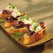 Beef Tenderloin Crostini – Recipe
