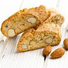 {Biscotti aux amandes} - Le craquant de la pâte et de l'amande rende ces petites bouchées irrésistibles !