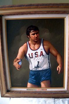 Al Oerter Capable #7h Athletics London 2012 Olympic Legend Game / Playing Card
