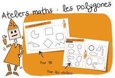 Maths : les polygones CE1-CE2   Bout de Gomme