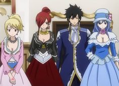 Fairy Tail Episode 199 | Erza