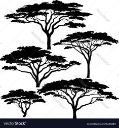 """Visit our internet site for additional info on """"metal tree art projects"""". It is an exceptional area for more information. Acacia, African Tree, Afrique Art, Tree Artwork, Metal Tree Wall Art, Black Tree, Silhouette Vector, Tree Silhouette Tattoo, Art Projects"""