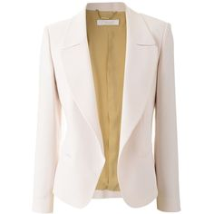 Chloe Rose Blazer Sense (4.760 BRL) ❤ liked on Polyvore featuring outerwear, jackets, blazers, casacos, tops, chloe blazer, blazer jacket, chloe jacket, pink blazer jacket and rose blazer