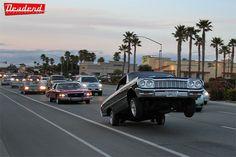 64 Hard Impala getting it. Chevrolet Impala, Chevrolet Caprice, My Dream Car, Dream Cars, Hydraulic Cars, Old School Cars, Amazing Cars, Hot Cars, Custom Cars