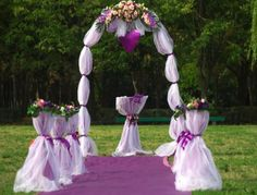 wedding arches ideas | banquet wedding
