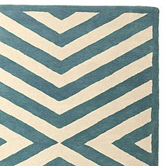I love a chevron pattern and this color is yummy!