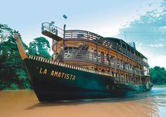 La Amatista Peru Amazon River Cruise Ship