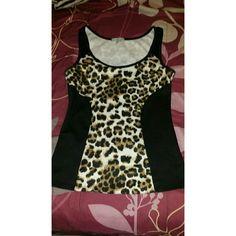 Cheeta print tank top Very nice shirt! Charlotte Russe Tops Tank Tops