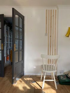 before shot diy coffee station wooden wall panelling progress Diy Projects On A Budget, Diy Home Decor On A Budget, Small Space Living, Small Spaces, Living Spaces, Yellow Cabinets, Wall Panelling, Home Decor Inspiration, Interior Styling