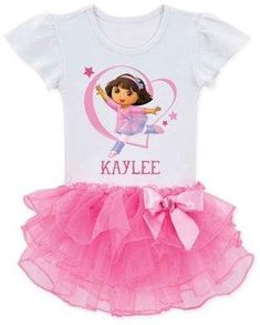 She'll be the prettiest little girl at the party or play date in this adorable Peppa Pig Ballerina Tutu T-Shirt. Flutter-sleeve t-shirt is attached to a frilly tutu. Make it even more special by personalizing it with her name. Peppa Pig Outfit, Peppa Pig Birthday Outfit, Pig Birthday Cakes, 3rd Birthday, Peppa Pig Clothes, Rainbow Birthday, Ballerina Tutu, Pegga Pig, Dora Cartoon