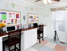Craft Room Desk Tutorial