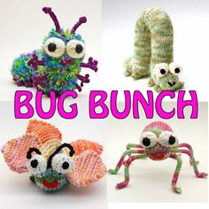 Bug Bunch Insect Patterns Instant PDF Downloads