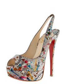 replica christian louboutin - christian louboutin Poseidon pumps Purple peep toes | cosmetics ...