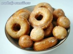 Pączki na maślance (Buttermilk Doughnuts) | Arabeska