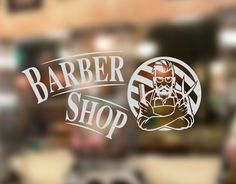 vinilo barber shop barbería