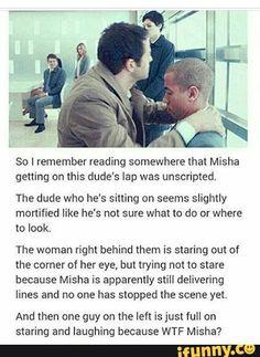 Misha ladies and gentlemen!!!