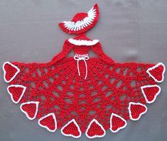 Ravelry: Valentine Crinoline Girl Doily (Item #0484) pattern by Cylinda Mathews