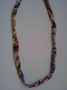 Χειροποίητο κολιέ από ύφασμα ζακάρ. Φοριέται και ως βραχιόλι. Beaded Necklace, Jewelry, Fashion, Beaded Collar, Moda, Jewlery, Pearl Necklace, Jewerly, Fashion Styles