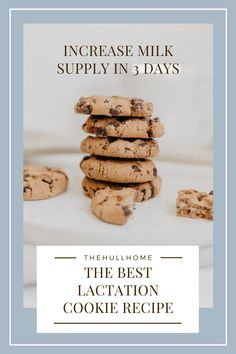 The best lactation cookie recipe to increase milk supply. This recipe is great for breastfeeding moms that need to increase milk supply in just a few days. Low Milk Supply, Increase Milk Supply, Baby Food Recipes, Cookie Recipes, Breastfeeding Cookies, Lactation Recipes, Lactation Foods, Healthy Lactation Cookies, So Little Time