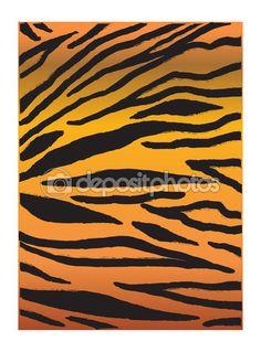 Abstract background. Tiger stripes pattern. Digital vector illustration. Fabric design. Wallpaper — Stock Vector © sofiartmedia.gmail.com #105165208