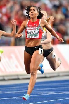 athletics, gymnastics, volley and more sports European Championships, Female Bodies, Gymnastics, Olympics, Athlete, Bra, Running, Contemporary, Sports