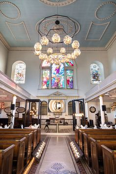 Tom Dixon's latest lighting and furniture ranges illuminate and furnish the huge volumes of St James Church for Clerkenwell Design Week