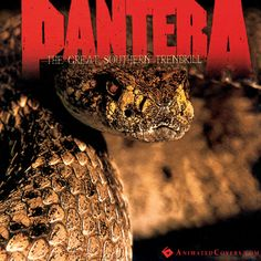 Pantera - The Great Southern Trendkill (animated cover)  #pantera #GreatSouthernTrendkill #metal #heavymetal #thrashmetal #dimebag #gifs  #animatedcovers #music #albumgifs #RexBrown #VinniePaul #DimebagDarrell