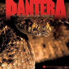 Pantera - The Great Southern Trendkill (animated cover)  #pantera #GreatSouthernTrendkill #metal #heavymetal #thrashmetal #dimebag #gifs  #animatedcovers #music #albumgifs #RexBrown #VinniePaul #DimebagDarrell