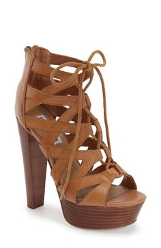 b28e8395912 Steve Madden  Dreamgirl  Lace-Up Sandal (Women) available at  Nordstrom