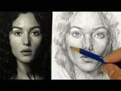 Portrait Drawing for Beginners -- Part 1 -- The Layout Drawing Skills, Life Drawing, Figure Drawing, Painting & Drawing, Drawing Drawing, Drawing Step, Drawing Lessons, Drawing Ideas, Sketching Techniques