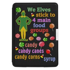ELF the Movie #Kindle Paperwhite Leather Cover ALL CASES #Santa #Christmas #Elves #North Pole Buddy the Elf designs see all my #Elf designs in my profile, search Elf Click here -- http://www.cafepress.com/dd/90812570