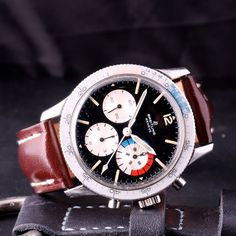 Breitling ref 765 CP 'Jean-Claude Killy' Yachting 1966