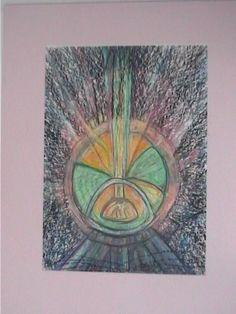"""olje pastel  """"Kraft """" av Eva Andersen oslo Oslo, Pastel, Art, Pie, Crayon Art, Melting Crayons"""
