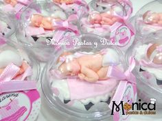 CUPCAKES DE BABY SHOWER elaborado por MONICA PASTAS Y DULCES.