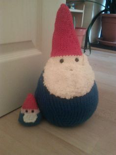 Isn't he the cutest?  Ravelry: Tazzyb's Home Sweet Gnome
