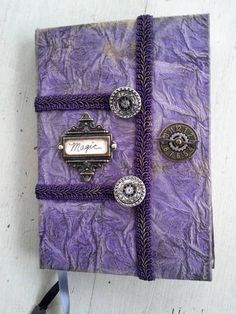 Harry Potter Altered Journal/Spellbook by Mistress Jennie