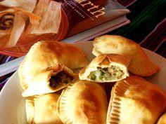 Empanadas met rozijnen-gehaktvulling