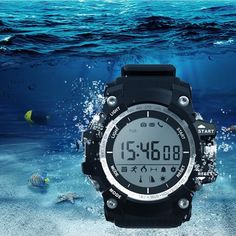 XR05 30M Swimming Diving Waterproof Smart Watch Pedometer Sport Healthy Smart Watch at Banggood