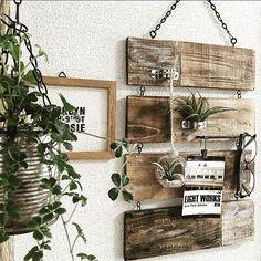 On Walls/green/ハンドメイド/DIY/セリア/賃貸...などのインテリア実例 - 2016-05-11 00:13:54