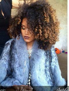 Love ombre curls